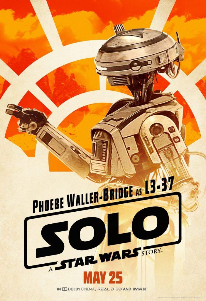 Solo - Uma História Star Wars - Androide L3-37