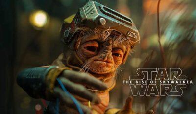 Star Wars: A Ascensão Skywalker   Babu Frik novo personagem revelado
