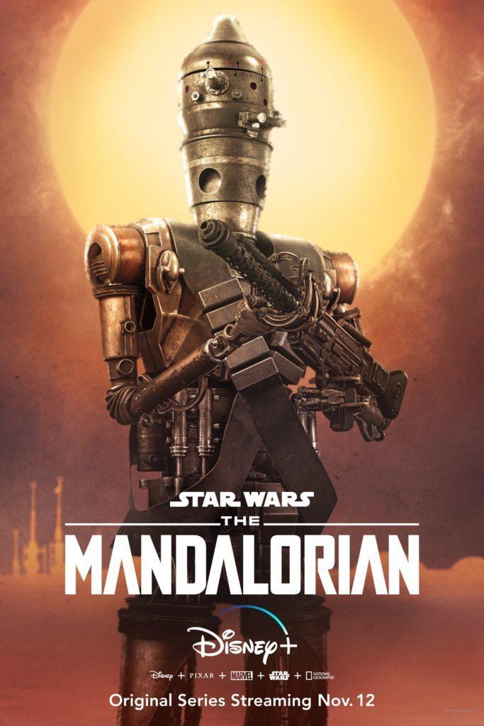 The Mandalorian Droid IG-11