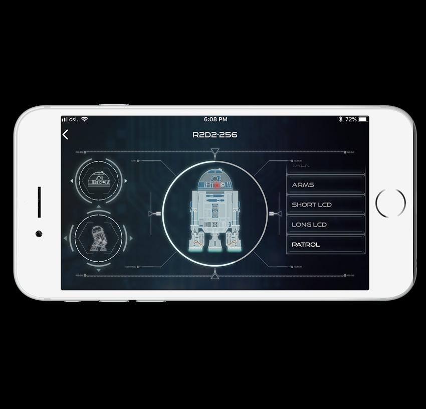 phone app r2d2 tela2 - Construa seu próprio R2-D2 de Star Wars