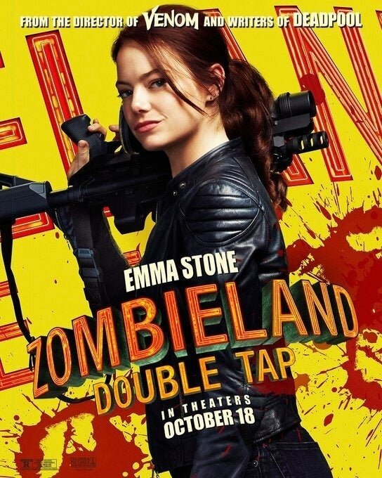 Zumbilândia 2 - Emma Stone