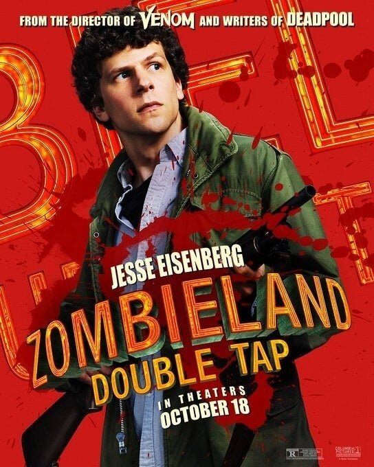 Zumbilândia 2 - Jesse Eisenberg
