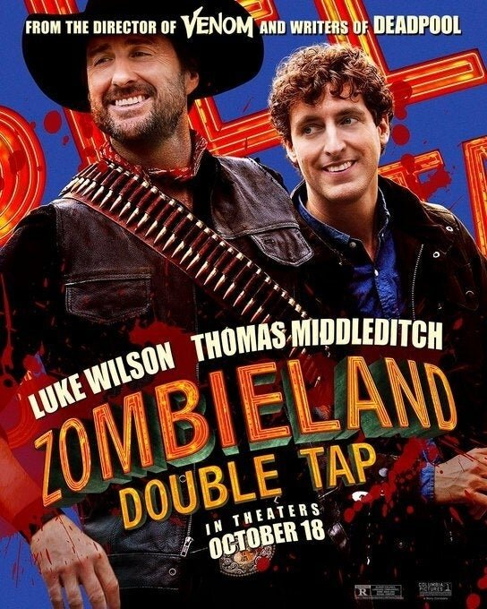 Zumbilândia 2 - Luke Wilson e Thomas Middleditch