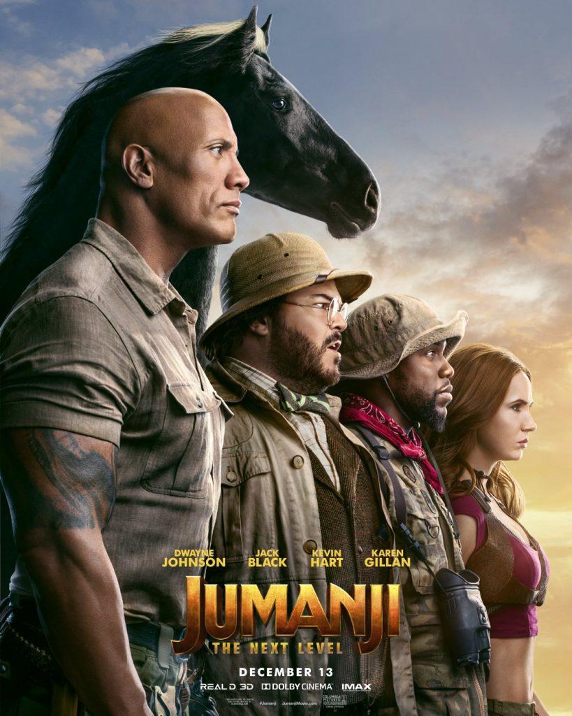 Jumanji 2 Novos Posters 819x1024 - Jumanji Próxima Fase | Trailer final e novos  cartazes