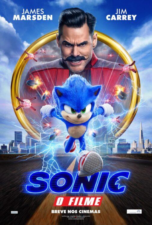 SONIC o Filme   Trailer novo com o personagem reformulado e poster