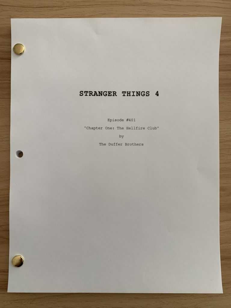 Stranger Things 4 titulo primeiro episodio 768x1024 - Stranger Things 4 | Revelado o título do primeiro episódio da quarta temporada