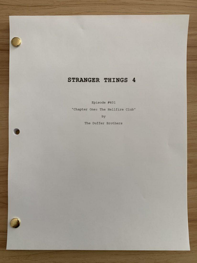 Strangers Things 4: The Hellfire Club - Título do episódio 1 da quarta temporada