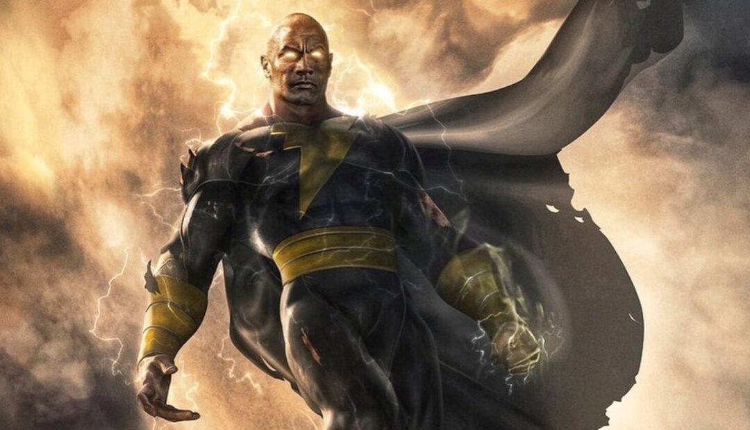 Dwayne Johnson divulga poster e data de lançamento do filme Adão Negro da DC