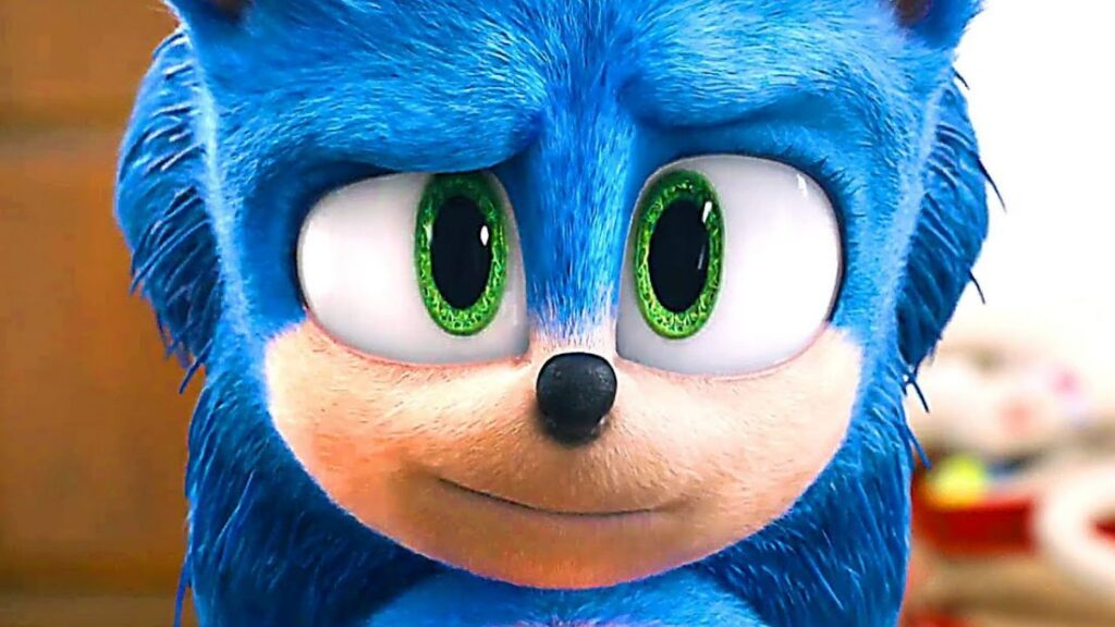 Sonic trailer novo visual consertado