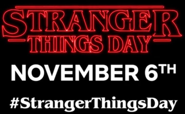 strangerthingsday 6 de novembro - Netflix declara dia 6 de Novembro como dia de Stranger Things