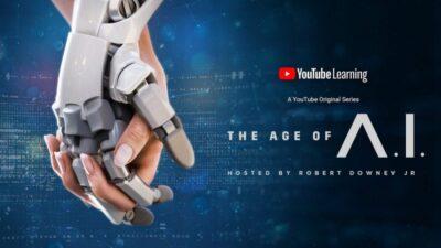 A Era da IA, série apresentada por Robert Downey Jr., o Tony Stark/Homem de Ferro, no Youtube