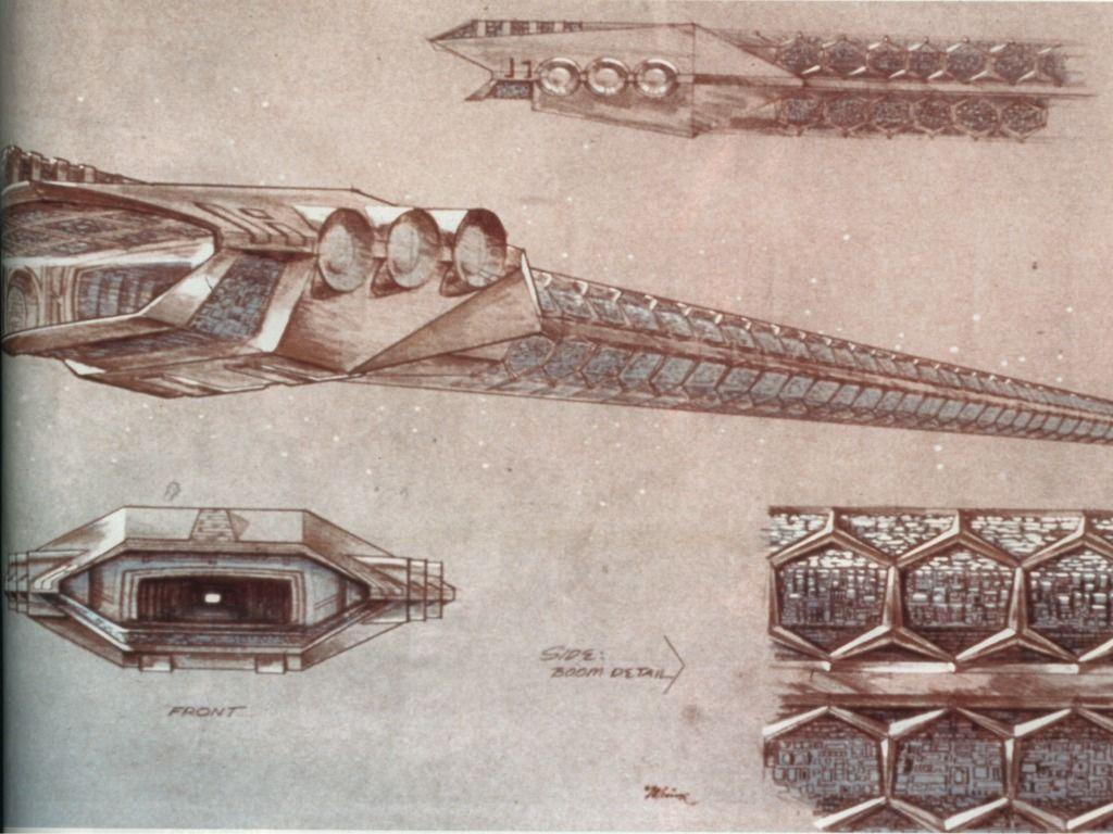 Syd Mead - Arte conceitual de V´ger - Star Trek: O Filme