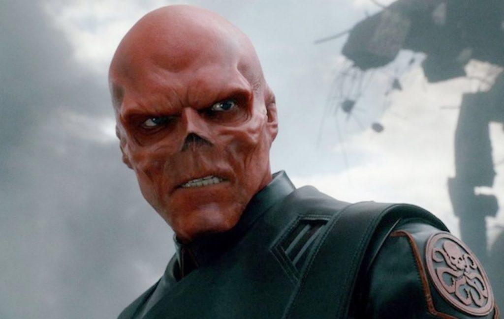 Capitão América: O primeiro Vingador: Hugo Weaving como o Caveira Vermelha
