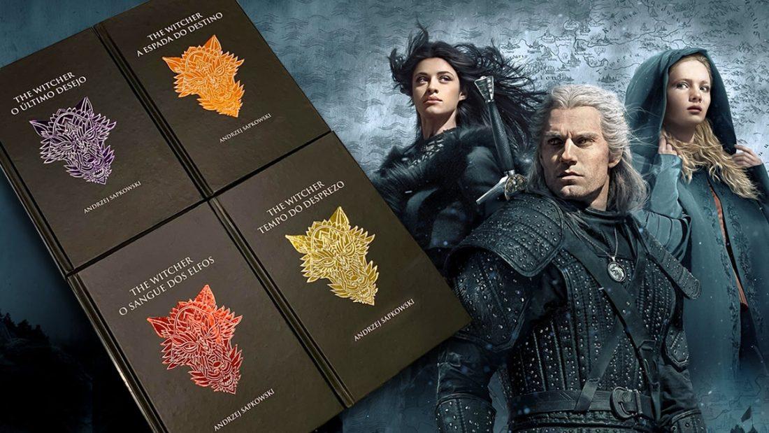 The Witcher ganha edições em capa dura e audiobook no Brasil