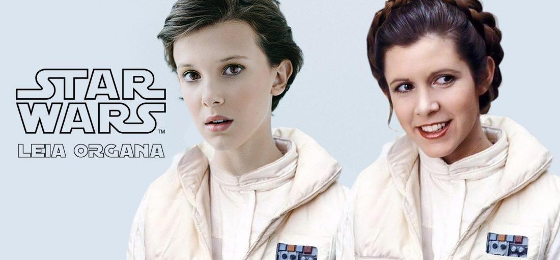 Millie Bobby Brown poderá interpretar a princesa Leia Organa