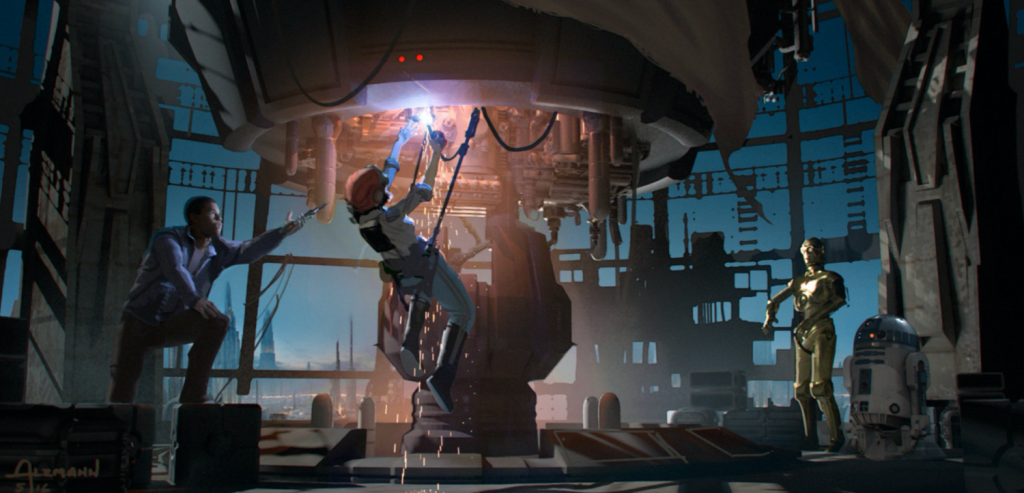 Star Wars Episódio 9 - Diretor Colin Trevorrows confirma que roteiro e artes conceituais são reais