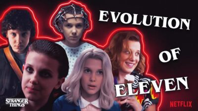 Stranger Things | Vídeo mostra a evolução de Eleven