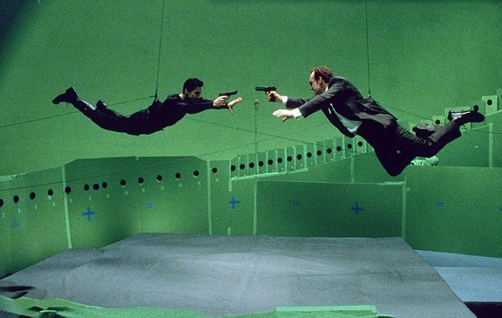 Técnica Bullet Time em Matrix