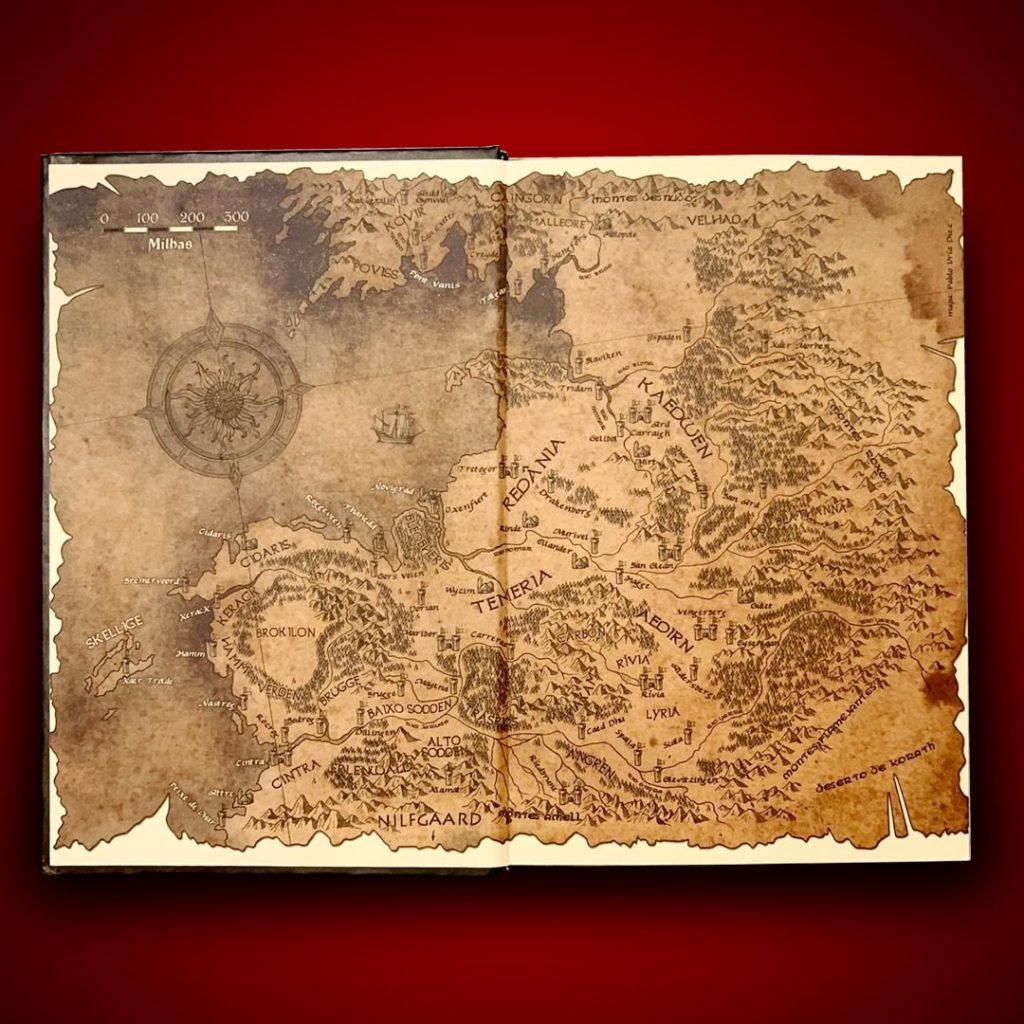 The Witcher publicado pela Martins Fontes 1 1024x1024 - The Witcher ganha edições em capa dura e audiobook no Brasil