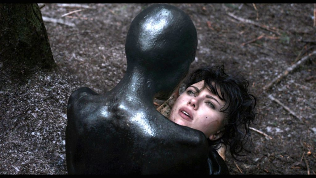 Under the skin - sci-fi movie with Scarllet Johansson in a row