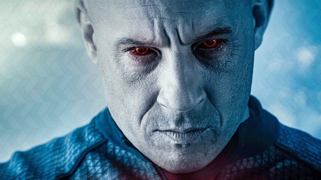 Vin Diesel como o soldado aperfeiçoado BLOODSHOT