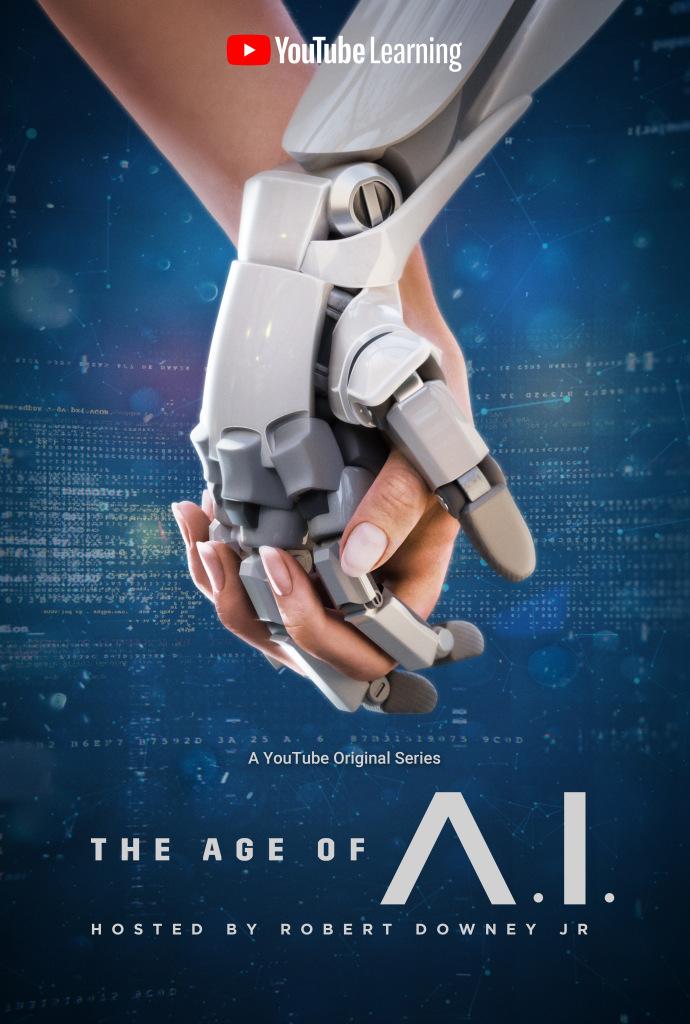 A Era da IA - 8 episódios da série apresentada por Robert Downey Jr