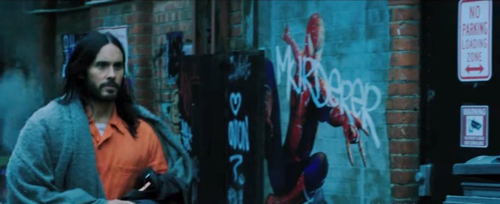 vaza foto de homem aranha no trailer de Morbius 1024x419 - Morbius | Trailer mostra Jared Leto como o vampiro da Marvel