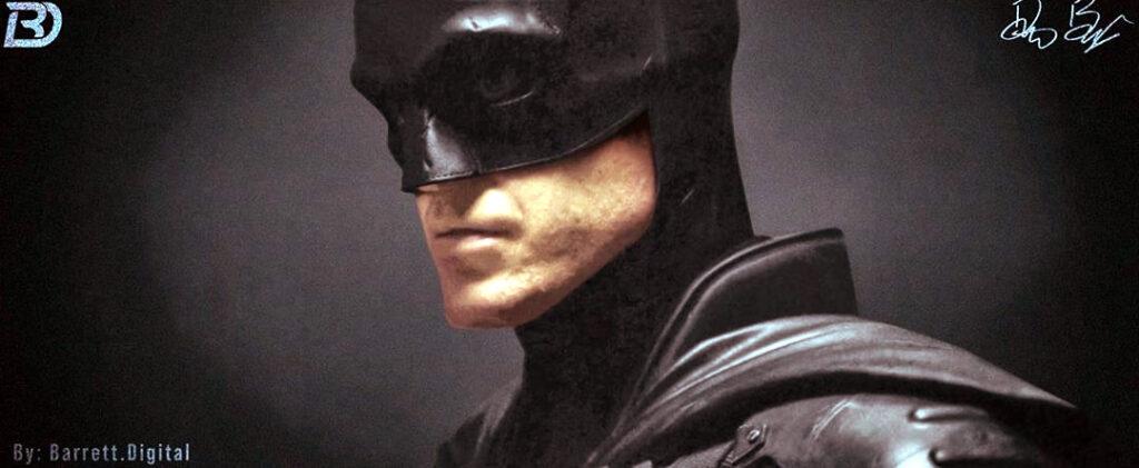 "Artista Dalton ""Checkers"" Barrett restaura as cores do traje de The Batman"