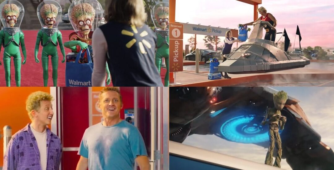Incrível comercial do Walmart no intervalo do Super Bowl 2020 com temática de ficção científica