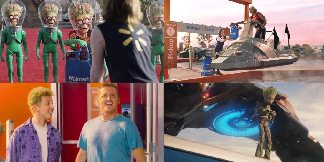 comercial do Walmart no intervalo do Super Bowl 2020