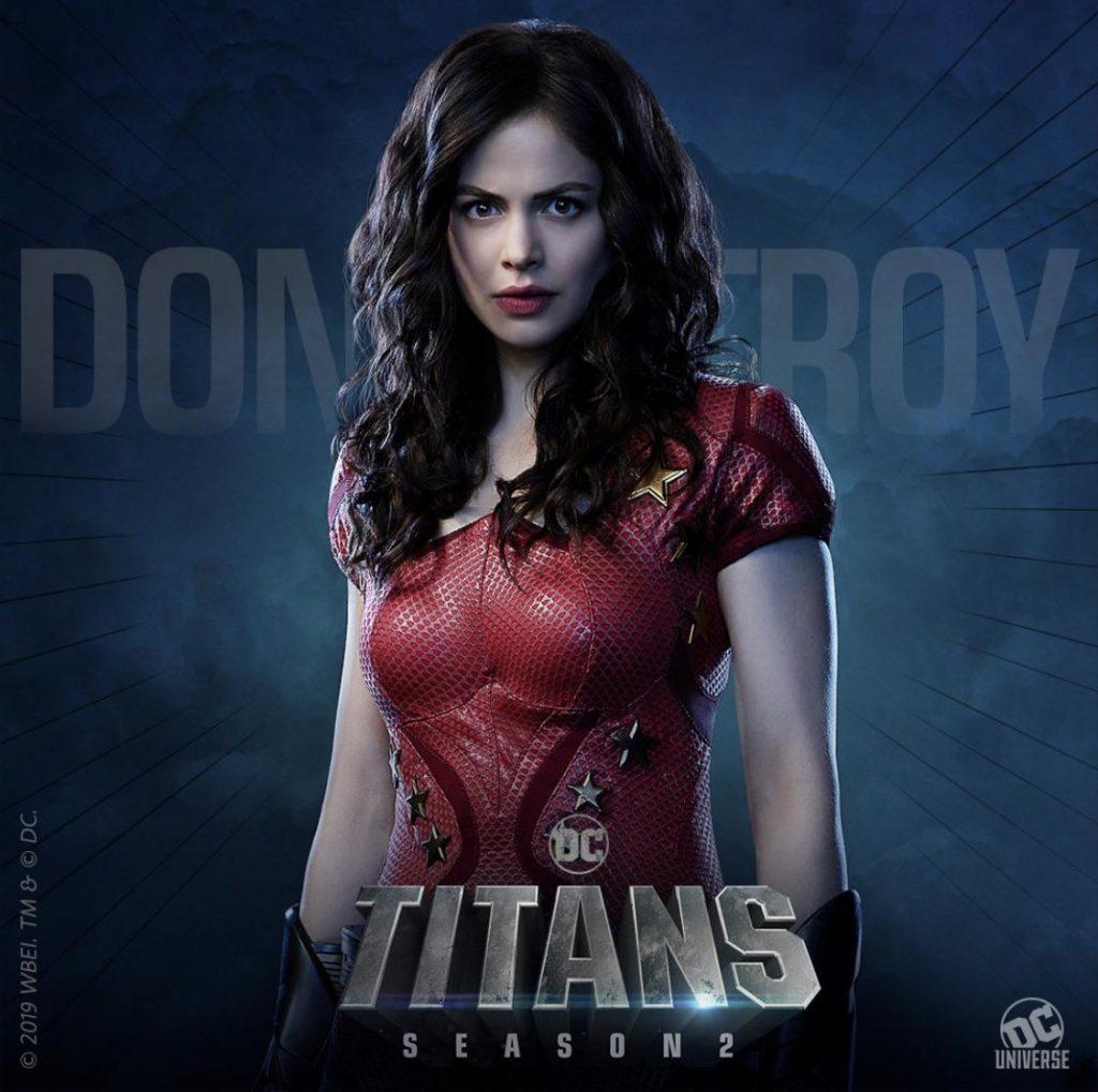 Titans Terceira Temporada Donna Troy vai retornar à série
