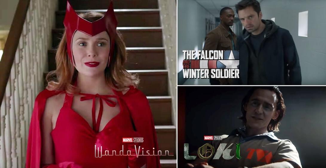 Marvel divulga teaser de WANDAVISION, Falcão e o Soldado Invernal e LOKI no Super Blow