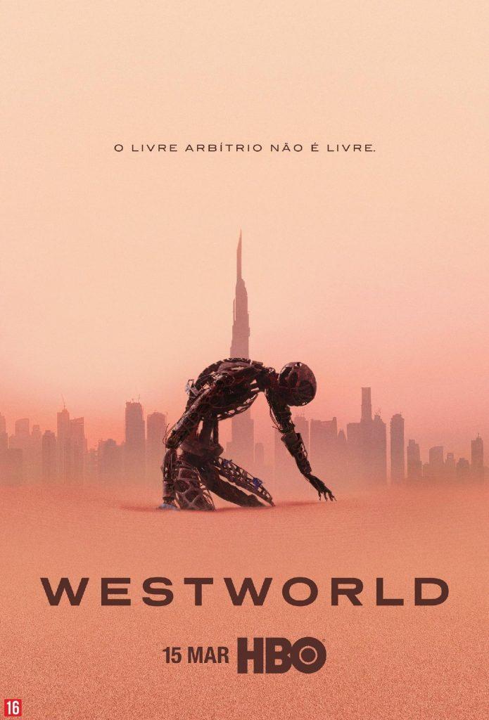 Poster da Terceira Temporada de WestWorld