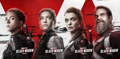 Viúva Negra | Liberados posters individuais dos personagens