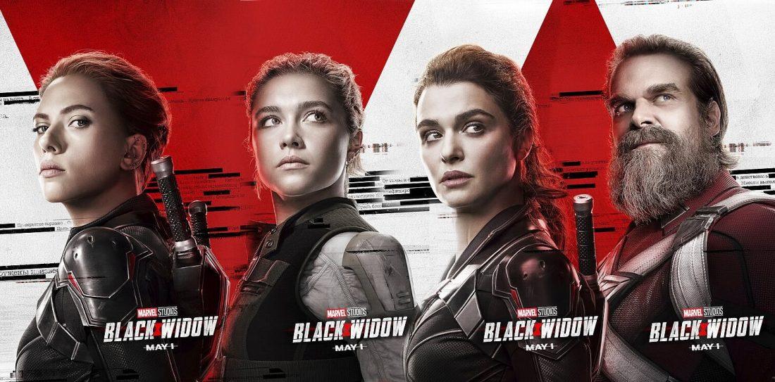 Viúva Negra - Posters dos Personagens
