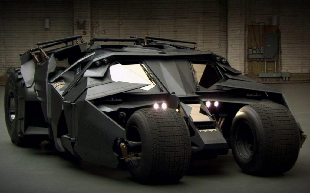 Batmóvel - Batman Christopher Nolan