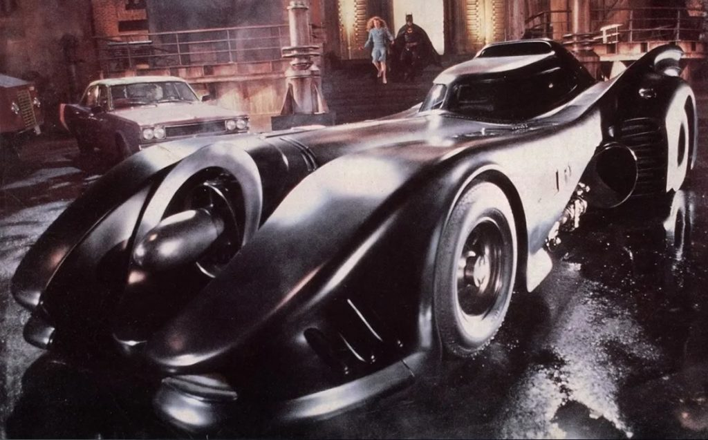 Batmóvel - Batman Tim Burton