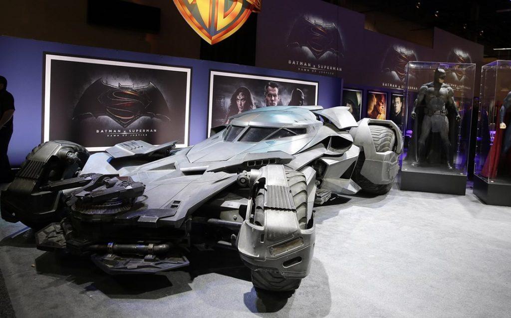 Batmóvel - Batman versus Superman