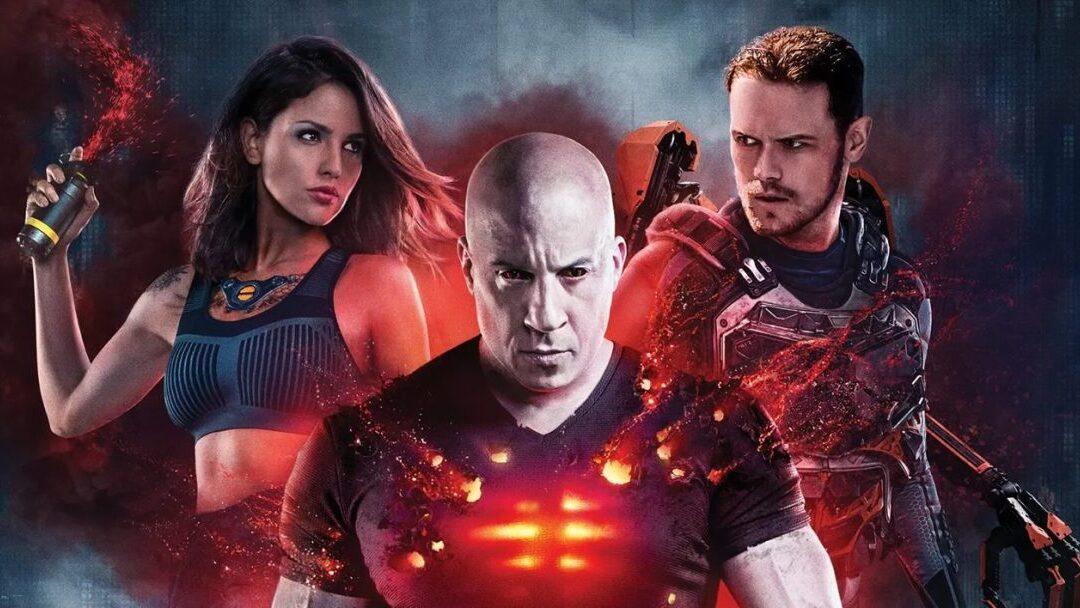 Bloodshot   Pôster do filme com Vin Diesel e elenco