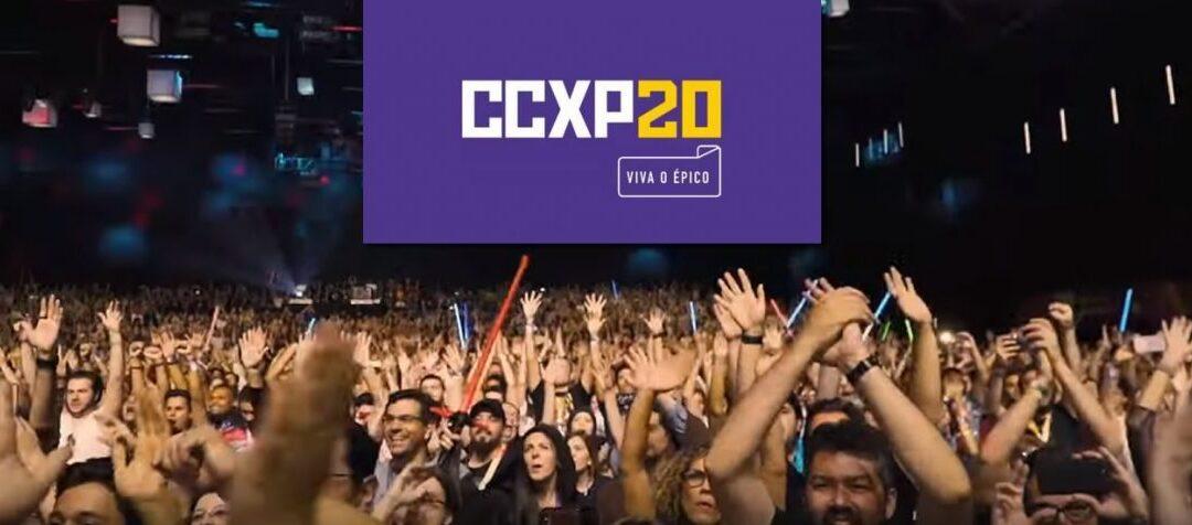 CCXP20 | Venda de ingressos em abril para o maior evento do universo Nerd