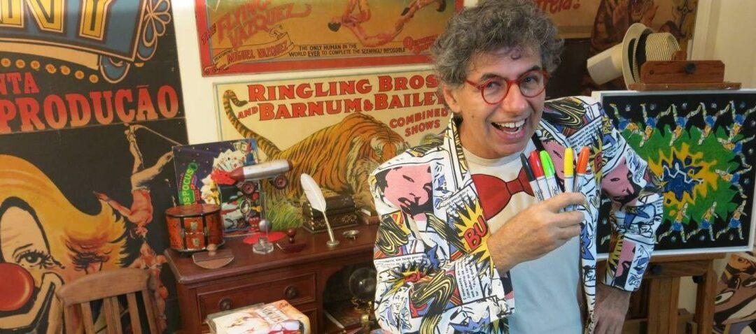 Desenhista Daniel Azulay morre aos 72 anos