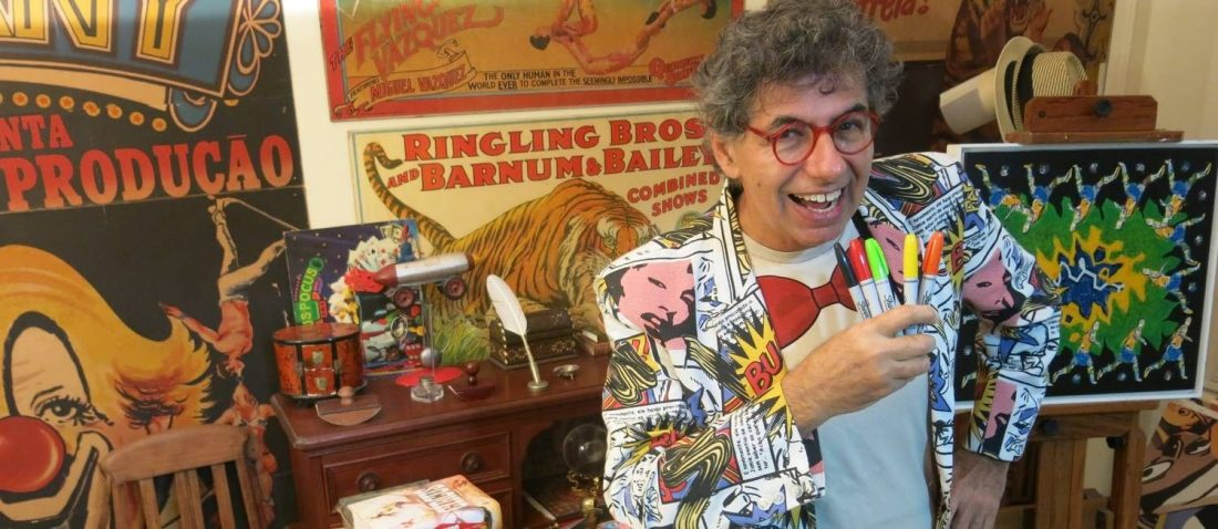 Desenhista Daniel Azulay morre aos 72 anos vítima do coronavírus
