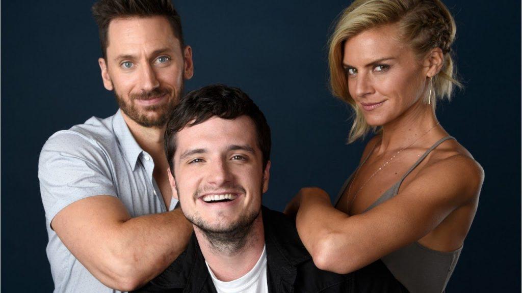 Future Man - Wolf (Derek Wilson) , Josh Futterman (Josh Hutcherson) e Tiger (Eliza Coupe)