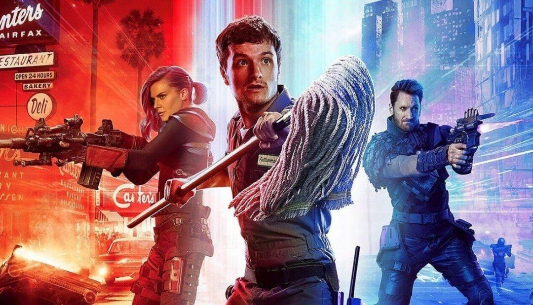 FUTURE MAN   Trailer da terceira temporada com uma maluca viagem no tempo