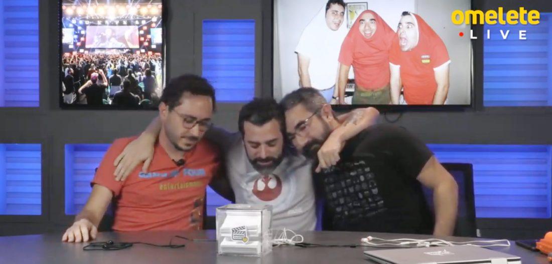 Érico Borgo se despede em Live do Omelete
