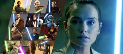 STAR WARS: A Ascensão Skywalker | As vozes dos Jedi que Rey ouve na batalha final