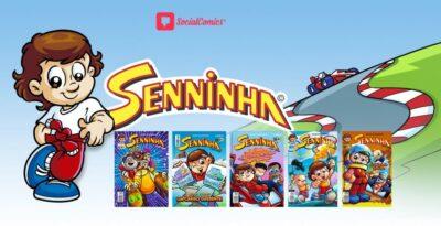 Social Comics e a marca Senninha liberam todos os quadrinhos do personagem de graça