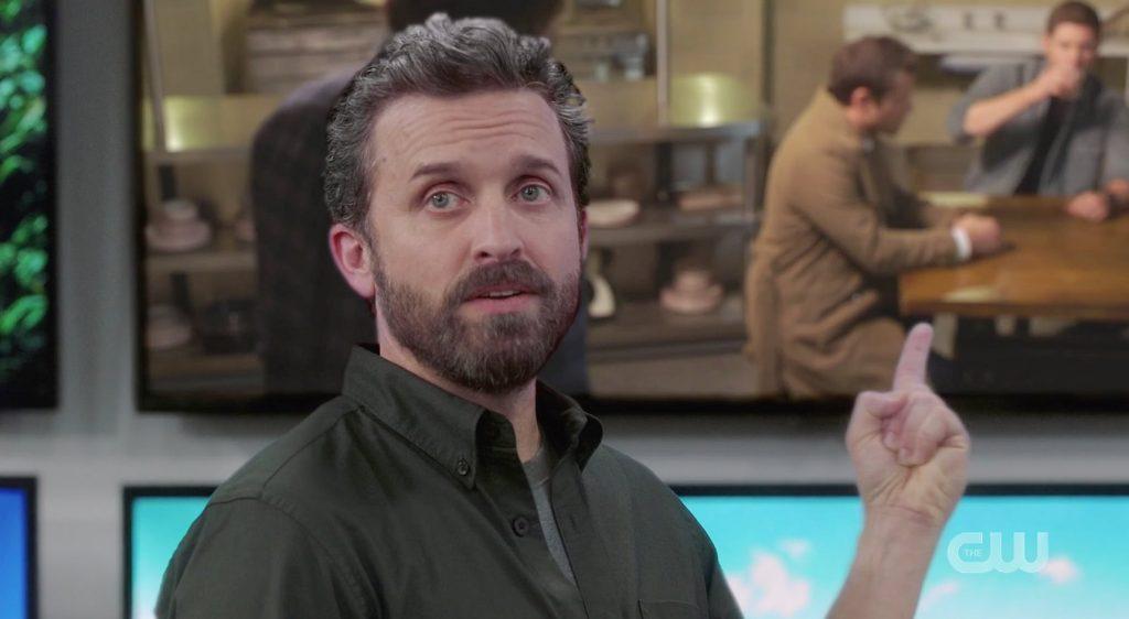 Supernatural Temporada15 Episodio12 Chuck Deus Destruidor de Universos 1024x562 - Supernatural conectado ao universo de Crise das Infinitas Terras?
