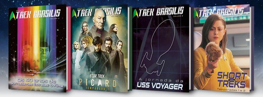 Coleção Trek Brasilis - Livros mensais do Universo Star Trek que todo fã precisa ter