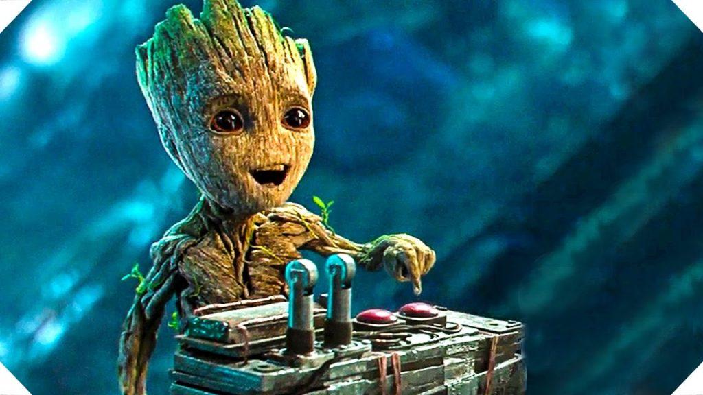 Vin Diesel -Guardiões da Galáxia Baby Groot